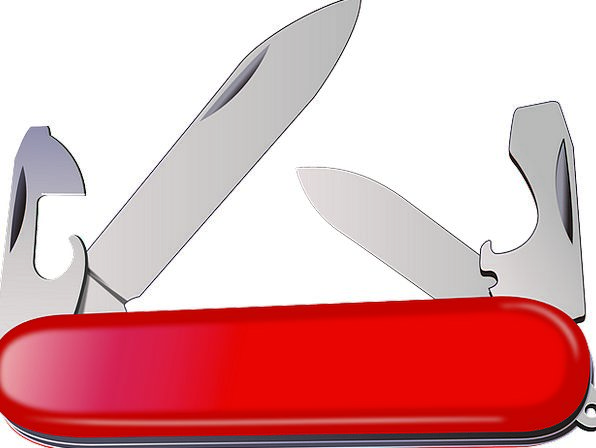 Knife Vacation Movable Travel Swiss Portable Acces