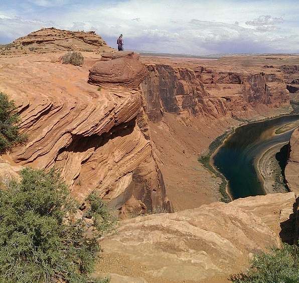 Horseshoe Bend Vacation Curve Travel River Stream
