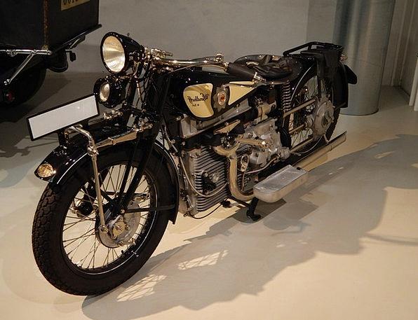 Motorcycle Motorbike The Vehicle Old Motorcycle