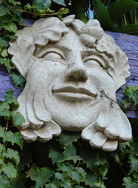 Garden Plot Cover Decoration Beautification Mask O