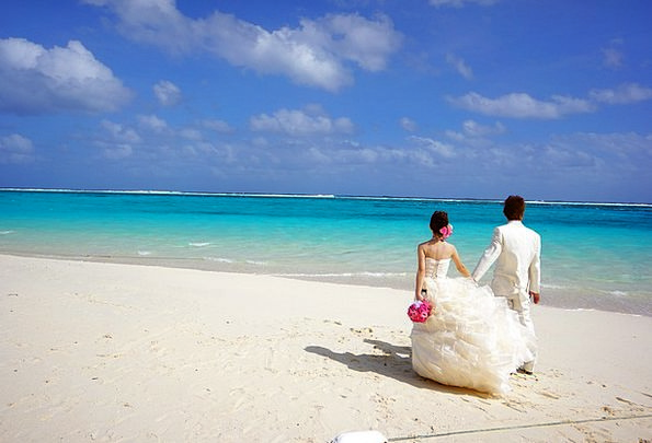 Bride And Groom Vacation Twosomes Travel Pair Coup