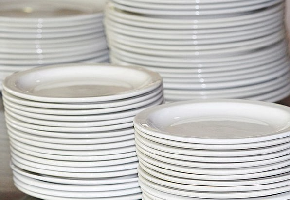 Plate Bowl Heap Plate Stack Stack Tableware Cutler