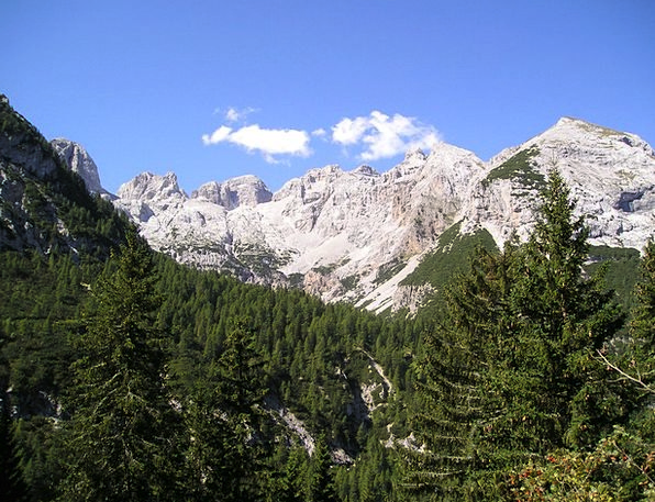 Mountains Crags Mountainous Brenta Alpine Italy