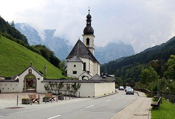 Church Ecclesiastical House of God Upper Bavaria H