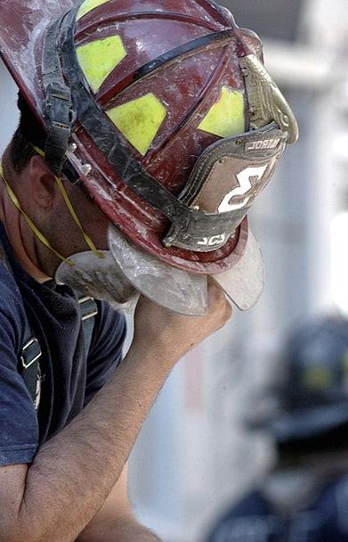 Fireman 9 11 Firefighter New York City Twin Towers