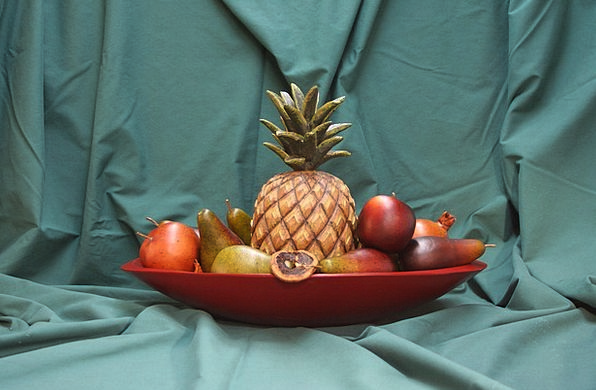 Bowl Ball Drink Ovary Food Pineapple Fruit Apple C