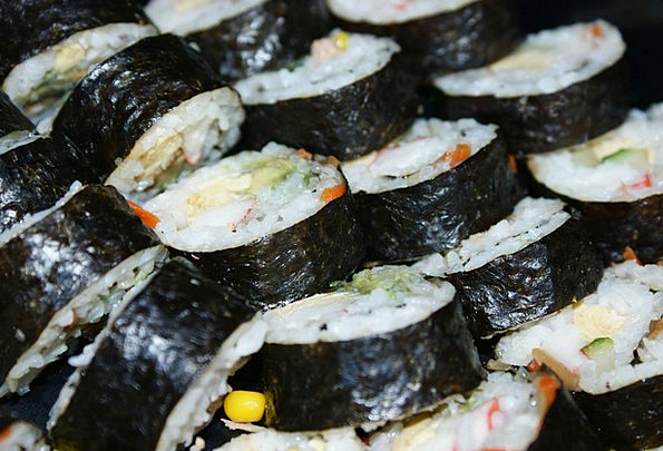 Sushi Drink Nourishment Food Rice Food Cuisine Fis