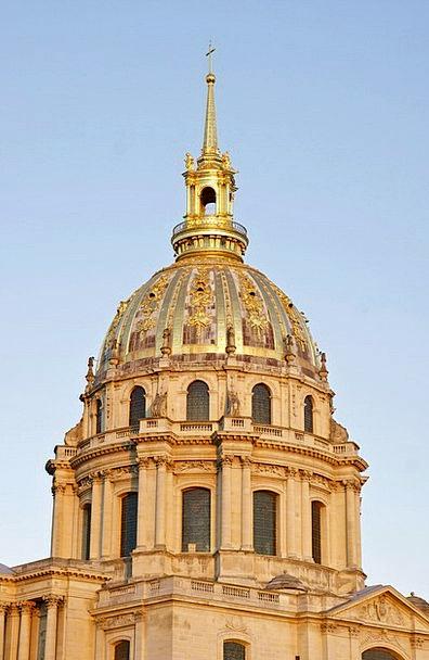 Dome Vault Buildings Architecture Paris Saint Loui