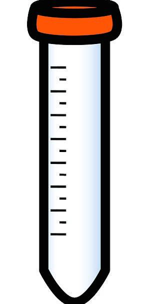 Test Tube Cut-glass Measuring Gauging Glass Pharma