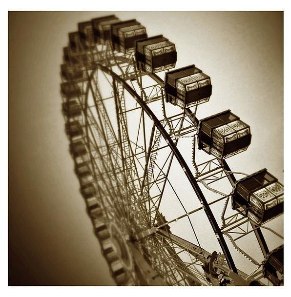 Year Market Sky Blue Ferris Wheel Rides Trips Hamb