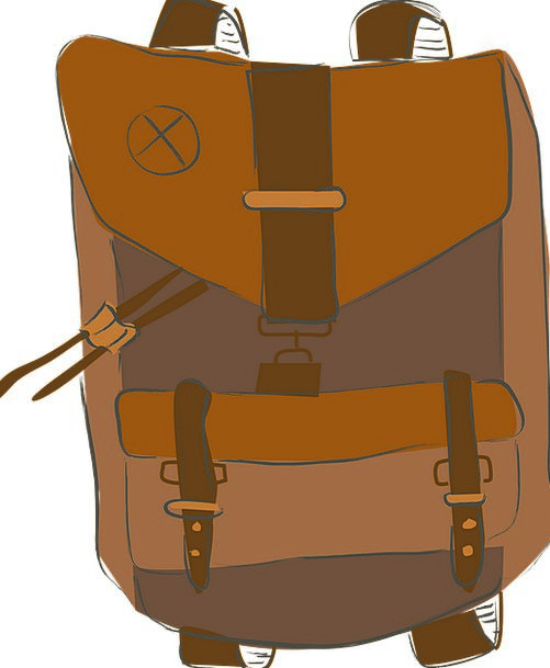 Backpack Rucksack Vacation Basket Travel Voyage Ba
