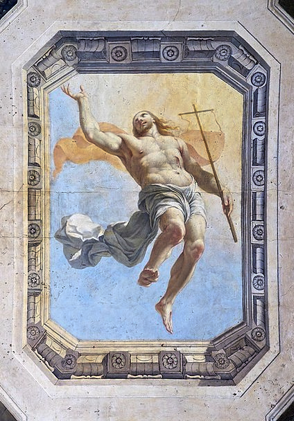 Christ Revival Jesus Resurrection Fresco Ceiling P
