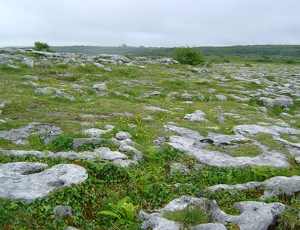 Ireland Stony Ground Crushed Rocky Rocks Pillars G