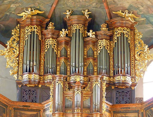Organ Structure Ecclesiastical Music Melody Church