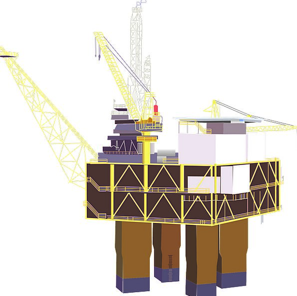 Oil Rig Craft Dress Industry Platform Stage Rig Dr