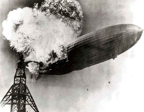 Hindenburg Tragedy Zeppelin Disaster Transatlantic