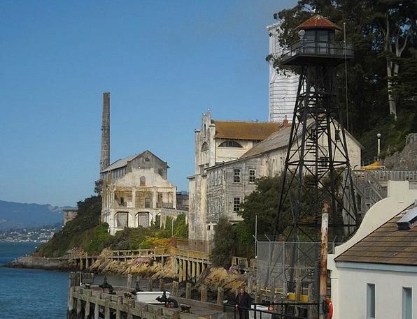 Alcatraz Francisco San Island Isle Prison Pacific