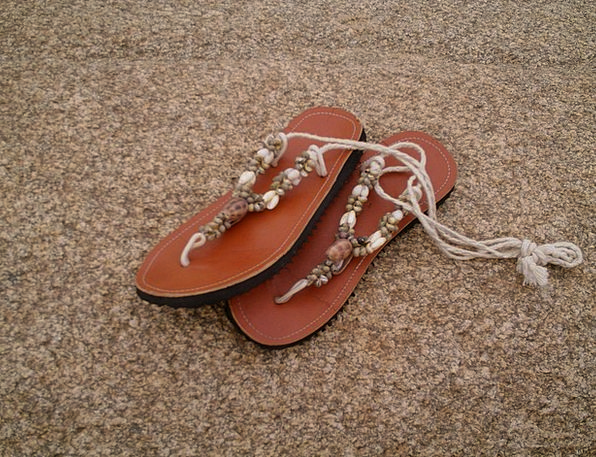 Sandals Flip-flops Vacation Seashore Travel Summer