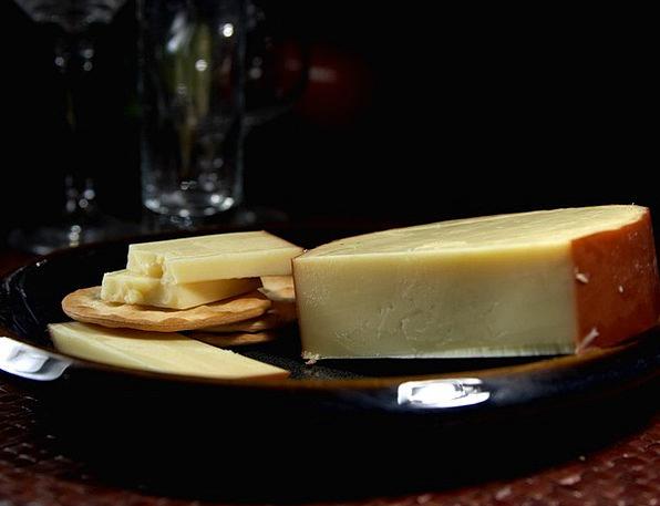 Gouda Drink Burned Food Cheese Smoked Albuminous M