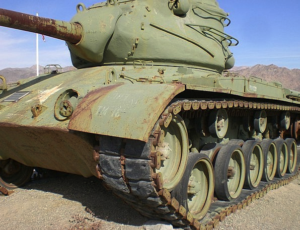 Patton Tank Monuments Conflict Places Wwii War His