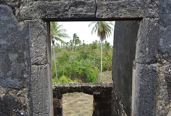 View From The Window Of The Castle Bahia Strong Be