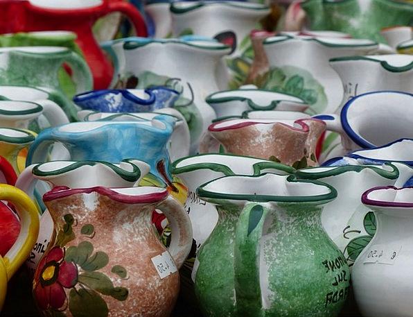 Jugs Pitchers Earthenware Porcelain China Ceramic