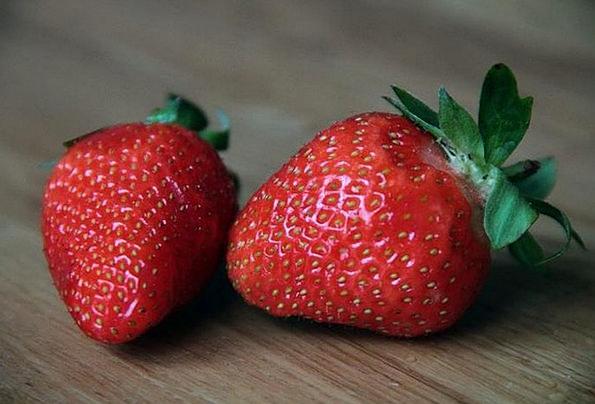 Strawberry Red Bloodshot Strawberries Summer Straw