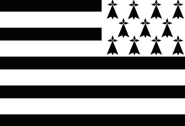 Brittany Standard Civil Public Flag State National