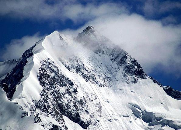 Piz Bernina Landscapes Crag Nature Biancograt Moun