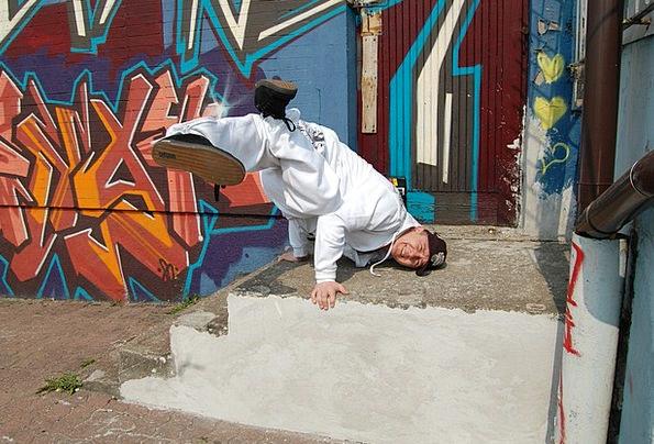 Dance Ball Form Breakdance Body Freez
