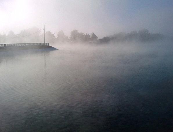 Fog Landscapes Unclear Nature Mist Haze Foggy Wate