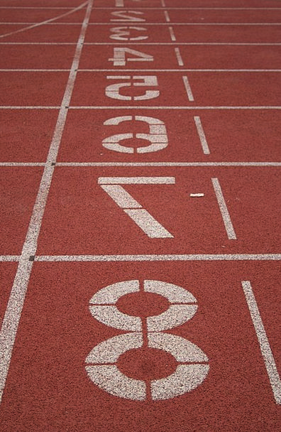 Track Path Consecutively Sport Diversion Running E