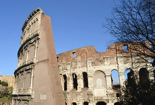 Coliseum Italy Rome Wall Partition