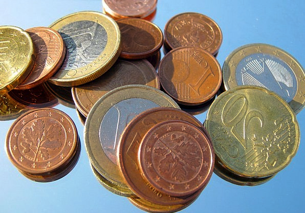 Loose Change Currency Coins Changes Penny