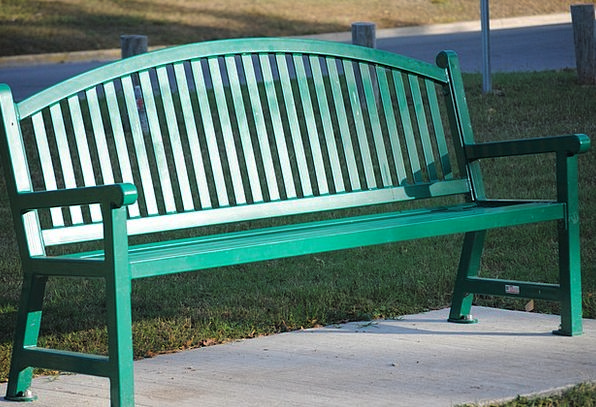 Bench Seat Landscapes Lime Nature Park Common Gree