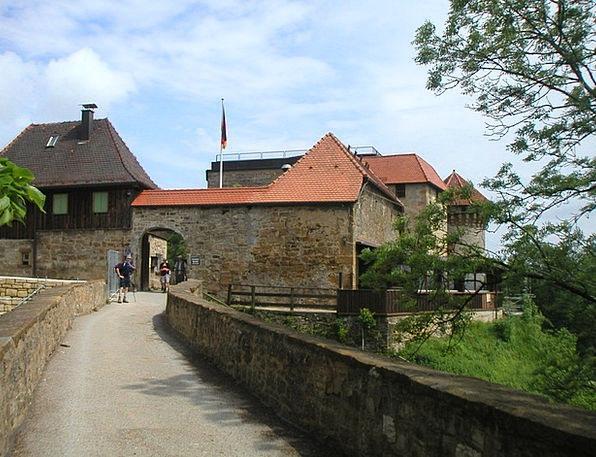 Ruin Hohenrechberg Burgruine Rechberg House Of Hoh