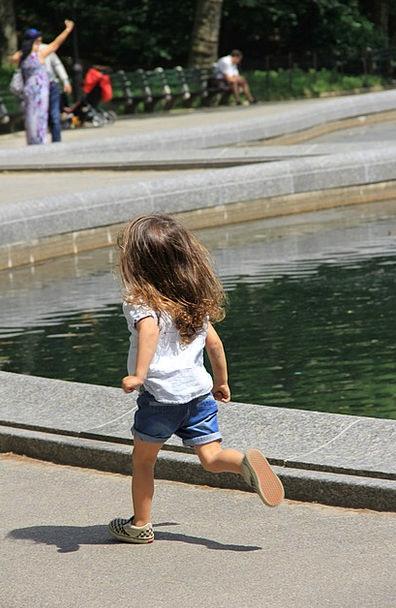 Kid Child Track Little Girl Run