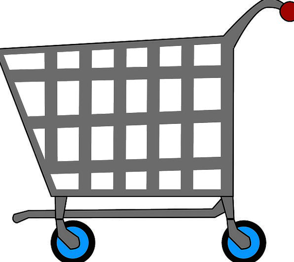 Basket Bag Wagon Ecommerce Cart E-Commerce Free Ve