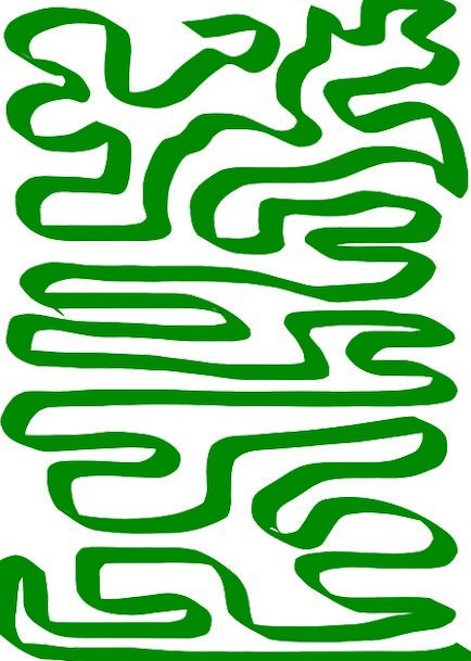 Maze Lime Labyrinth Green Puzzle Mystery Path Comp