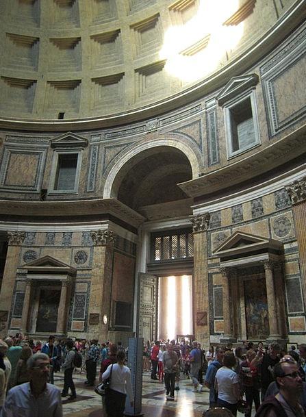 Pantheon Italy Rome Antiquity Church Ecclesiastica