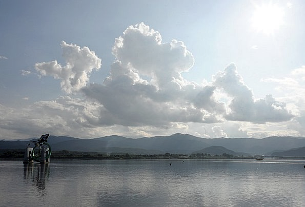 Chuncheon River Stream Soyang River Sky Blue