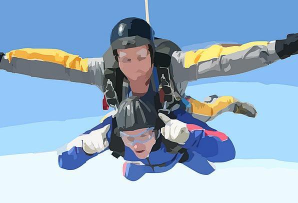 Skydiving Free-falling Free Fall Jump Skydiver Fal