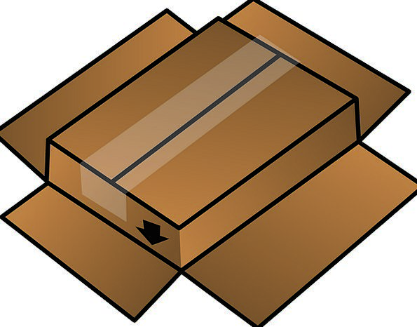 Box Container Insubstantial Upside Advantage Cardb