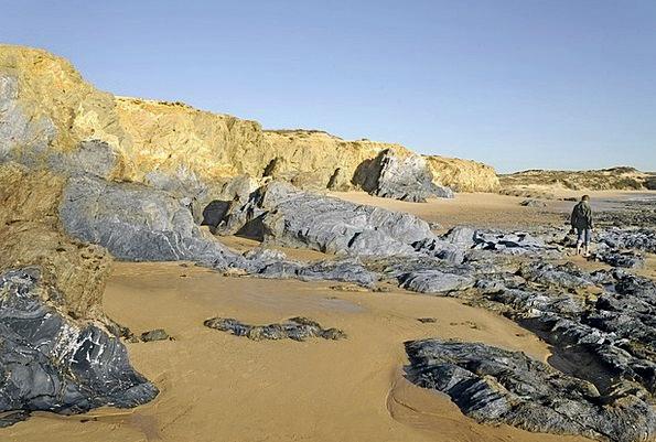Portugal Landscapes Nature Coast Shore Atlantic Co