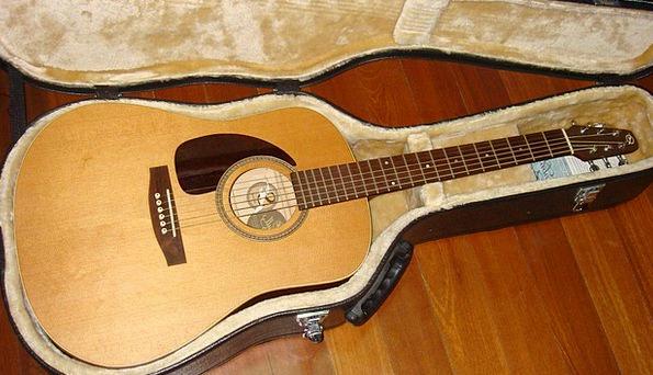Guitar Audio Music Melody Acoustic Folk Instrument