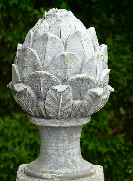Garden Figurines Garden Plot Fig Concrete Ornament