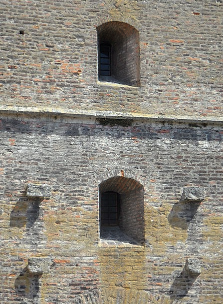 Wall Partition Buildings Ancient Architecture Ston
