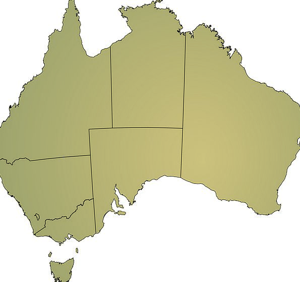 Australia Landmass Geography Topography Continent