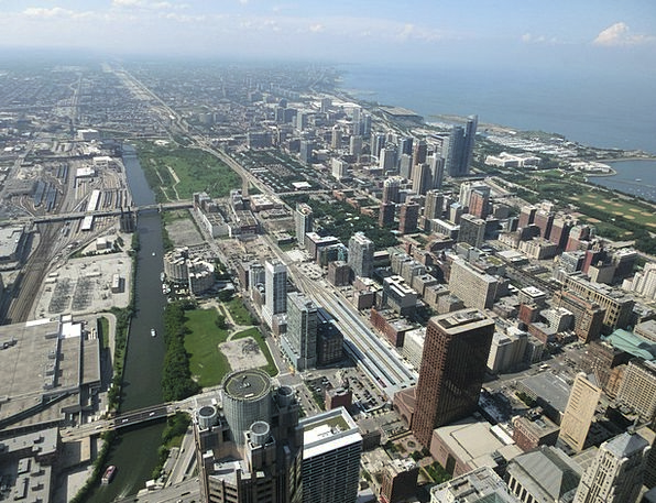 Chicago Buildings Architecture United States Usa M