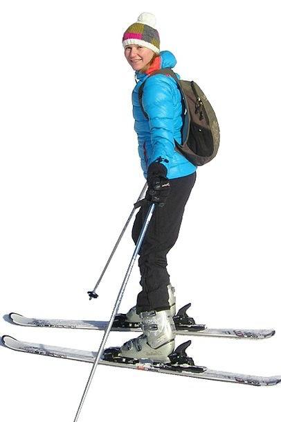 Skiing Ski Skier Leisure Winter Sports Girl Sport